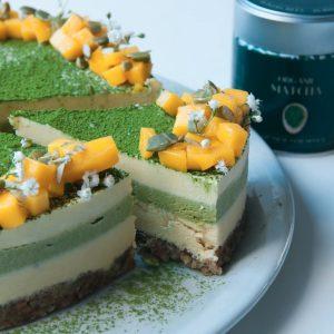 עוגת מנגו מאצ'ה